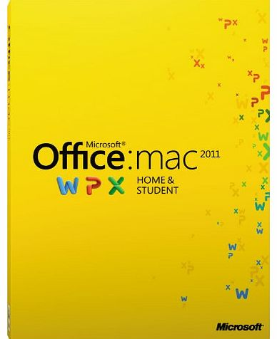 Office Mac Home and Student 2011 - 1User [Download]